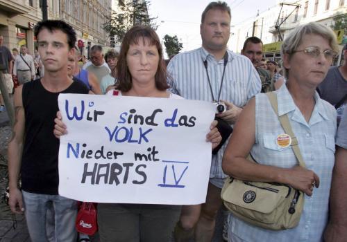 Magdeburg, Hartz 4 Demo, 2004