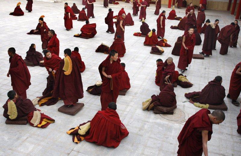 Mönche,Tibet, 2009
