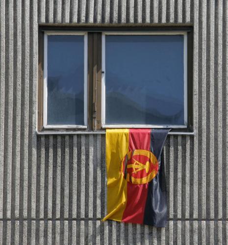 Berlin, DDR Flagge, 2006