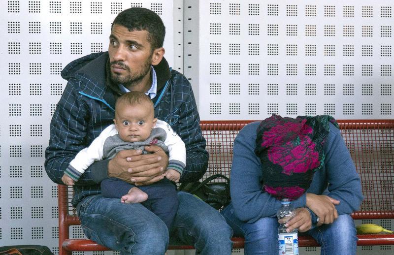 Syrische Flüchtlinge, Berlin, 2015