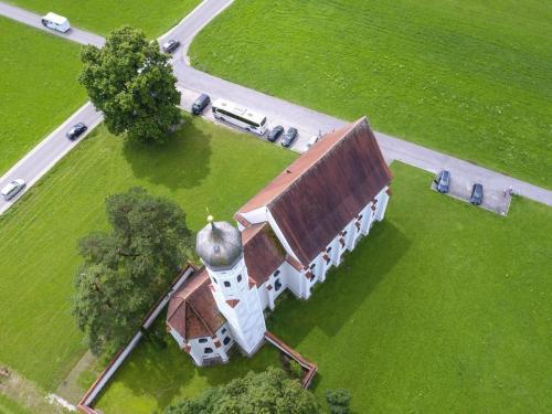 St. Coloman Kirche inSchwangau, Bayern