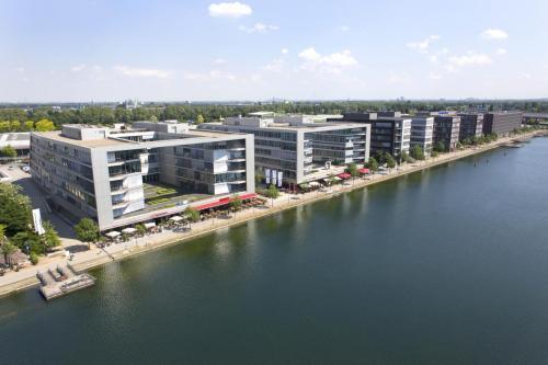 Strukturwandel:Innenhafen Duisburg