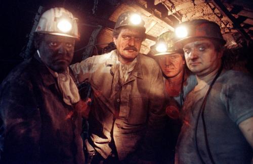 GLÜCK AUF !Bergarbeiter, Herten, 1994