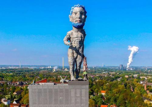 Herkules auf dem Nordsternturm, Gelsenkirchen