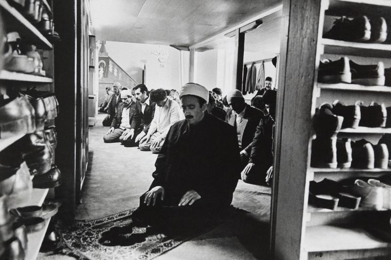 Freitagsgebet, Essen,1984