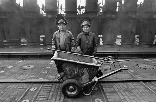 Arbeiter, Kokerei Zollverein, Essen, 1985
